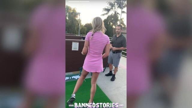 Busty Blonde Teen Gabbie Carter Gets Fucked in Public Instagram Story