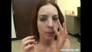 TOP 100 FACIALS FROM COVERMYFACE: #35 - #31 CUMSHOTS ONLY