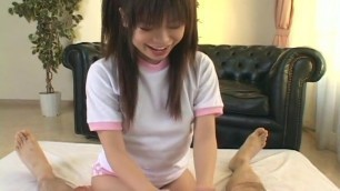 Adorable teen sucking a big hard dick