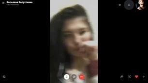 037 Russian Skype girls (Check You/divorce in skype/Развод в Skype)