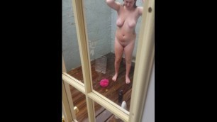 Spying on Teen Sister Taking a Shower